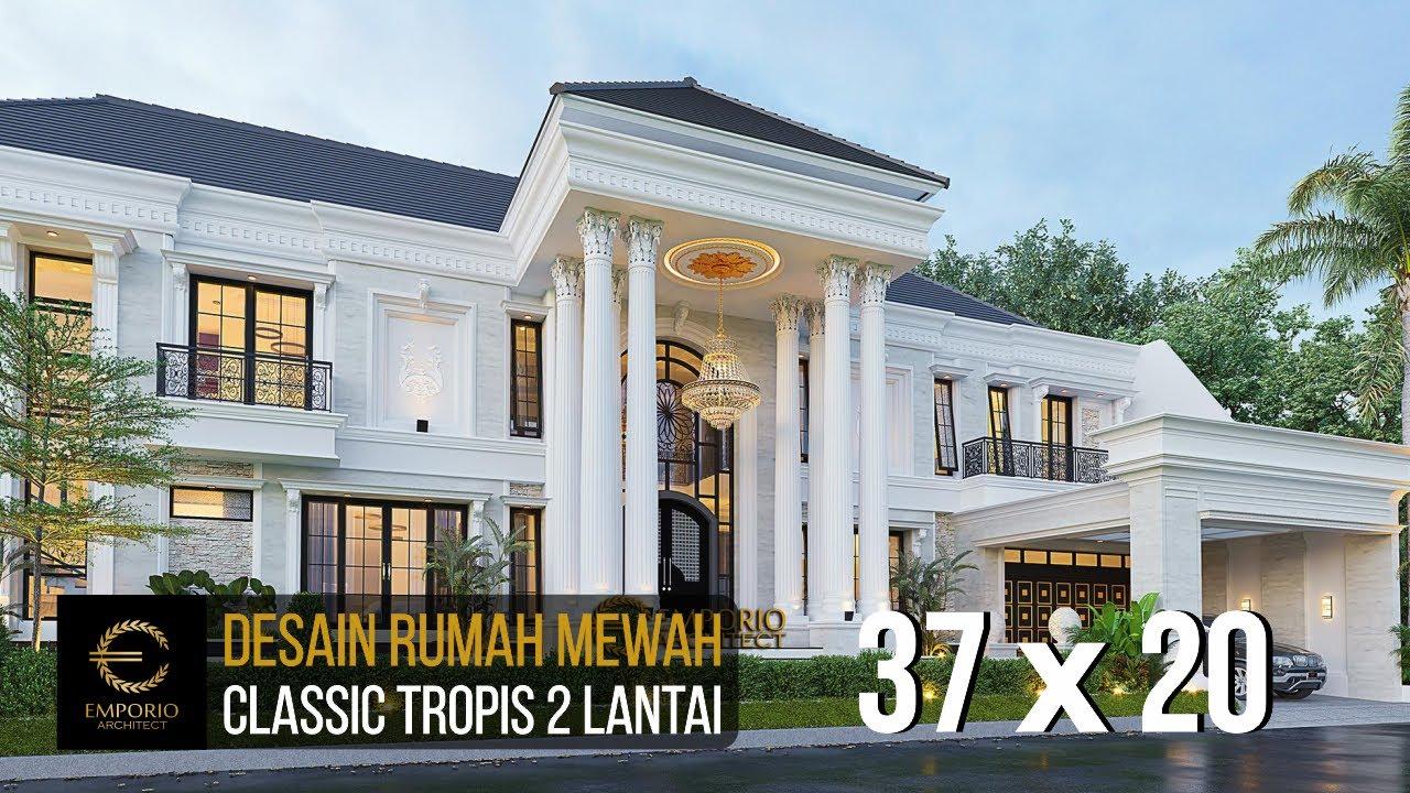 Video 3D Mrs. Iin Classic House 2 Floors Design - Kendari, Sulawesi Tenggara