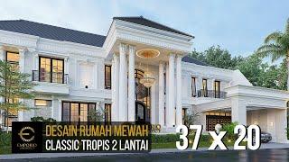 Video Desain Rumah Classic 2 Lantai Ibu Iin di  Kendari, Sulawesi Tenggara