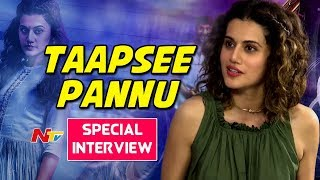 Taapsee Pannu Special Interview | #AnandoBrahma