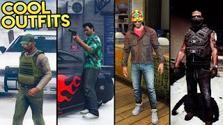 GTA Online - AWESOME LOOKING OUTFITS! (Tommy Vercetti, The Sheriff, The McFly & More) • 360NATI0N