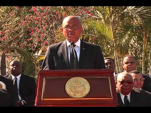 discours president martelly