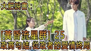 大肥說書- 黃昏流星群 25 [ 政商勾結,從政者的愛情終局! ]