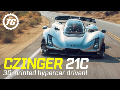 CZINGER 21C 期待のハイパーカーを初ドライビングする試乗動画が話題