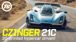 World Exclusive! CZINGER 21C FIRST DRIVE: $2m, 1,233bhp 3D-printed hypercar | Top Gear