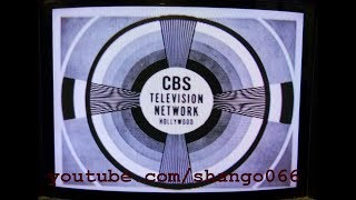 Monoscope Camera Tube image CBS Television Network Hollywood Test Pattern