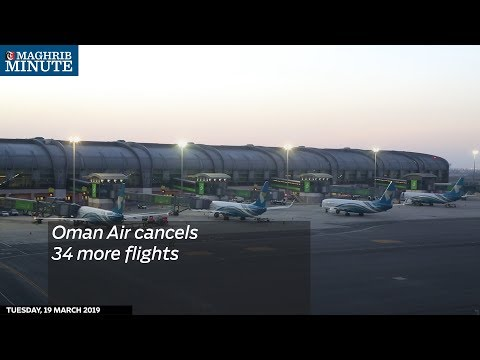 Oman Air cancels 34 more flights