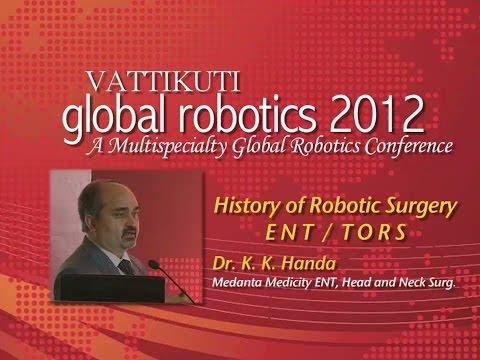 History of Robotic Surgery - ENT TORS