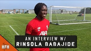 RINSOLA BABAJIDE | LIVERPOOL PRE-SEASON 2019/20 INTERVIEW