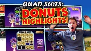 Quad Donuts Session! 14 Slot Bonuses :)