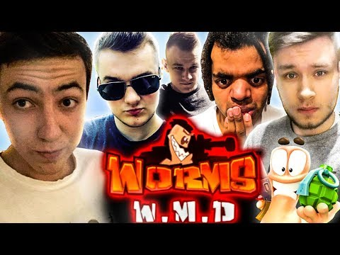 TOTALNE RAKOWISKO! - Worms W.M.D