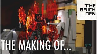 The Making Of: LEGO Darth Maul meets Obi-Wan Kenobi on Raydonia MOC
