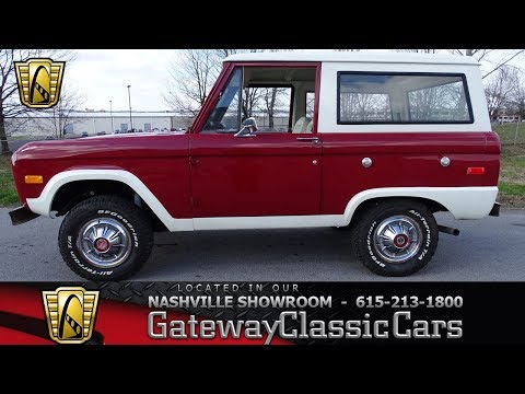 Video of '73 Ford Bronco - $37,995.00 - MN68