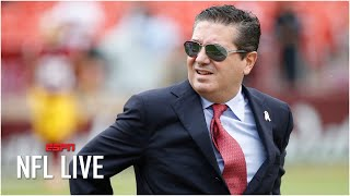 Why Dan Snyder is feeling the pressure to change the Redskins' name   NFL Live
