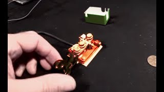 Russian Straight Key | CW Morse QRP Ops