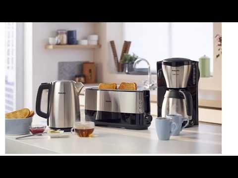 Kaffeemaschine mit Thermoskanne und Timer