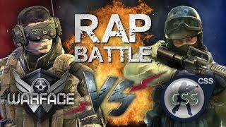 Рэп Баттл - Warface vs. Counter-Strike: Source