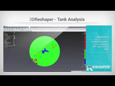 Complete workflow for tank analysis