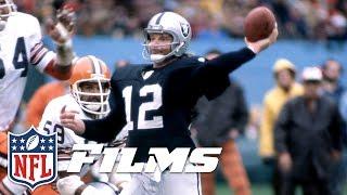 #6 Ken Stabler | NFL Films | Top 10 Clutch Quarterbacks of All Time