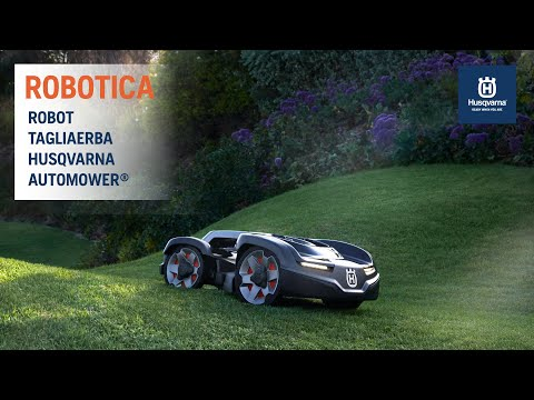 ROBOT RASAERBA HUSQVARNA AUTOMOWER®: LEADER DAL 1995