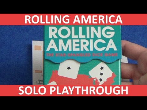Rolling America - Solo Playthrough