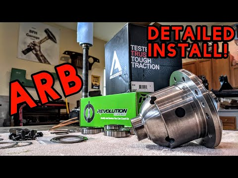 How to Install an ARB Air Locker (Very Detailed!)