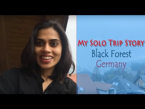Travel Vlog | My Solo Trip Story | Black Forest,Germany | Day 1 | Trip from Netherlands to Germany