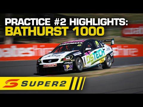 バサースト1000 super2クラスの練習走行ハイライト動画