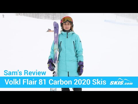 Video: Volkl Flair 81 Carbon Skis 2020 17 40