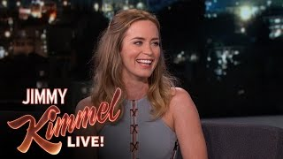 Emily Blunt Takes the REAL U.S. Citizenship Test