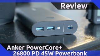 Anker PowerCore+ 26800 PD 45W Review (2020)