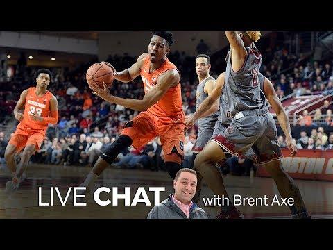 Syracuse Basketball Defeats Boston College 67 56 Brent Axe Video