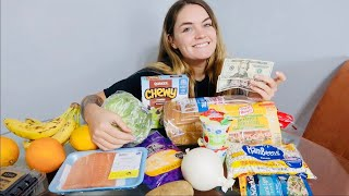 $25 weekly grocery budget - How to plan & save money each week (shop with me)
