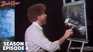 Bob Ross - Winter Night (Season 3 Episode 4)