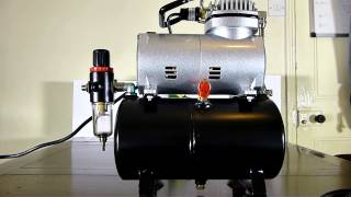 Equipment: KMS model AS 186 Compressor and Airbrushes