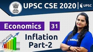 3:00 PM - UPSC CSE 2020 | Economics by Samridhi Ma'am | Inflation (Part-2)