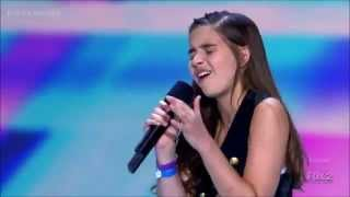 Feeling Good. Carly Rose Sonenclar singing Nina Simone song. Audition X-factor. Feeling Good lyrics