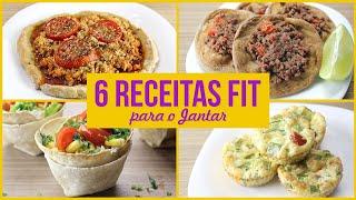 6 Receitas Fit Fáceis Para A Hora Do Jantar