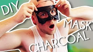 #DIY CHARCOAL FACE MASK!! Remove all blackheads!! | #jimmericksDIY