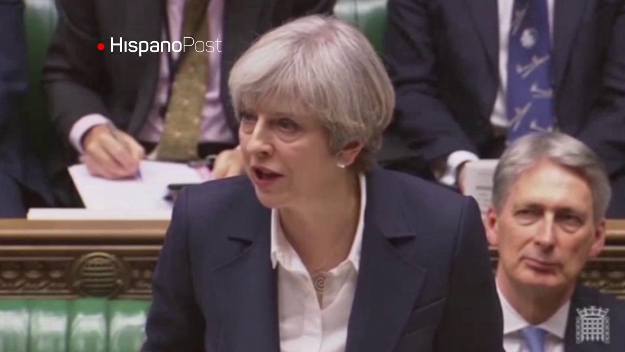 May convoca elecciones anticipadas en el Reino Unido