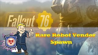 Fallout 76 How to spawn Rare Responder Vendor