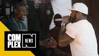 50 Cent Says Floyd Mayweather Slept with Earl Hayes' Wife Before Murder-Suicide