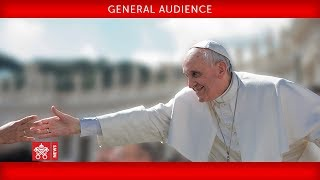 Pope Francis - General Audience 2018-09-12
