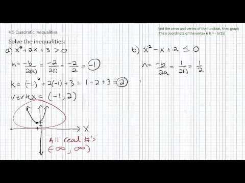 Solving Quadratic Inequalities p4