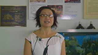Hello from Dr. Joann M. Chang, Professor of Biology at AWC