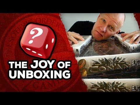 The Joy of Unboxing: Conan