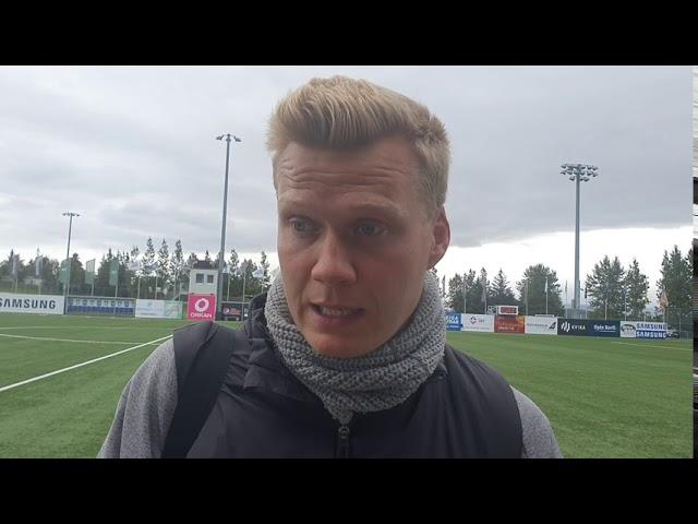 Andri Ólafs: Áttum mögulega skilið að fá á okkur mark