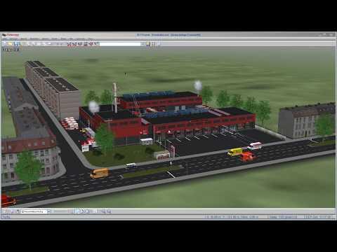 EEP NEUVORSTELLUNG Feuerwehr-Modul Bausatz von DL1
