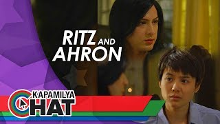 Kapamilya Chat with Ritz Azul and Ahron Villena for Maalaala Mo Kaya