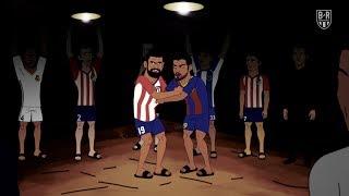 Atletico Madrid's Secret Fight Club   The Champions S2E4