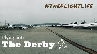 Flying into the Kentucky Derby